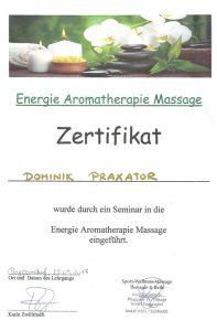 Energie- & Aroma-Therapie
